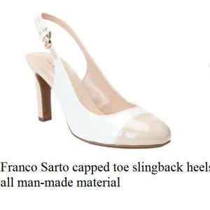 70311f93f49 Women s Franco Sarto Slingback Heels on Poshmark